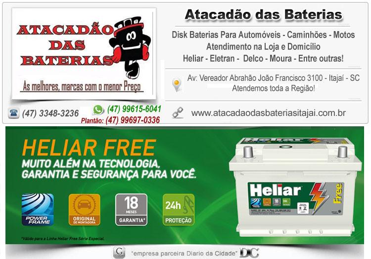 Disk Baterias 24 hrs Balneário Camboriú